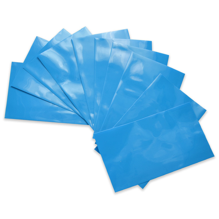26650 Battery Wraps - 10pcs - Light Blue