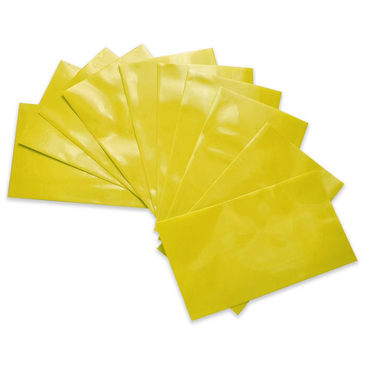 26650 Battery Wraps - 10pcs - Yellow