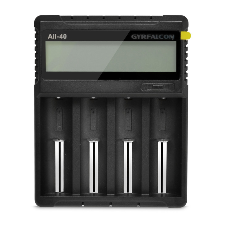 GYRFALCON All-40 4 Channel Digital Battery Charger