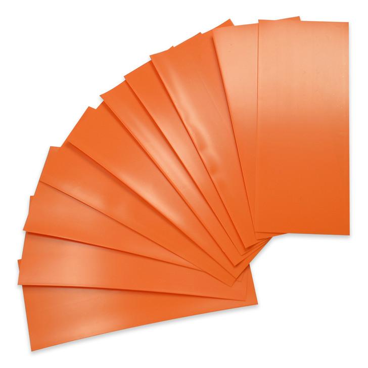 18650 Battery Wraps - 10pcs - Orange