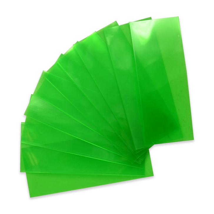 18650 Battery Wraps - 10pcs - Translucent Green