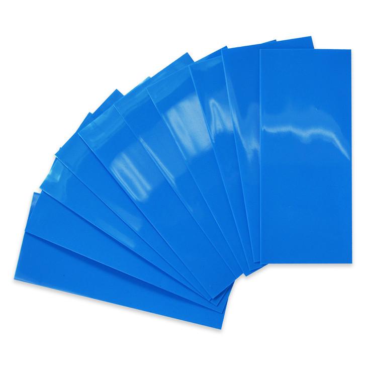 20700 Battery Wraps - 10pcs - Light Blue