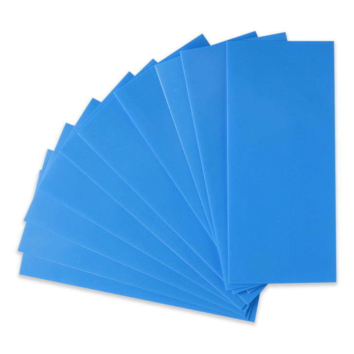 21700 Battery Wraps - 10pcs - Light Blue