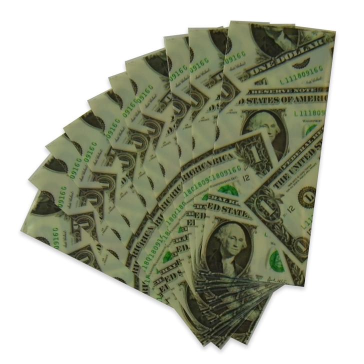 18650 Battery Wraps - 10pcs - 1 Dollar Bill