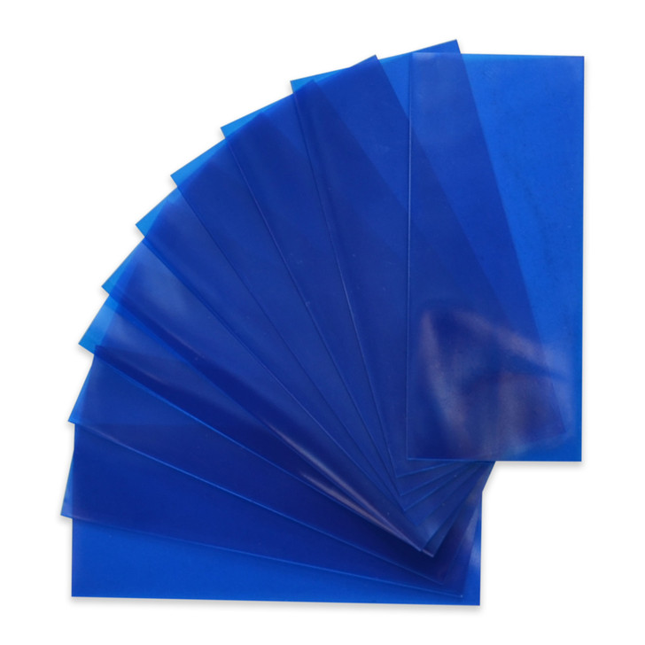 20700 Battery Wraps - 10pcs - Translucent Blue