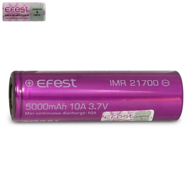 Efest 21700 5000mAh 10A Battery