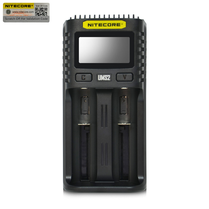Nitecore UM2 2 Channel Digital Battery Charger
