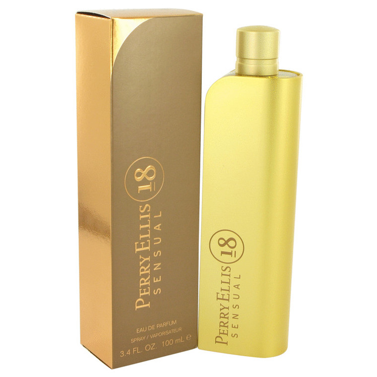 18 Sensual By Perry Ellis 3.4 oz Eau De Parfum Spray for Women