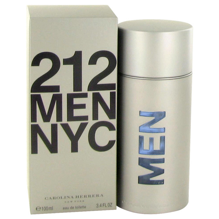 212 By Carolina Herrera 3.4 oz Eau De Toilette Spray (New Packaging) for Men