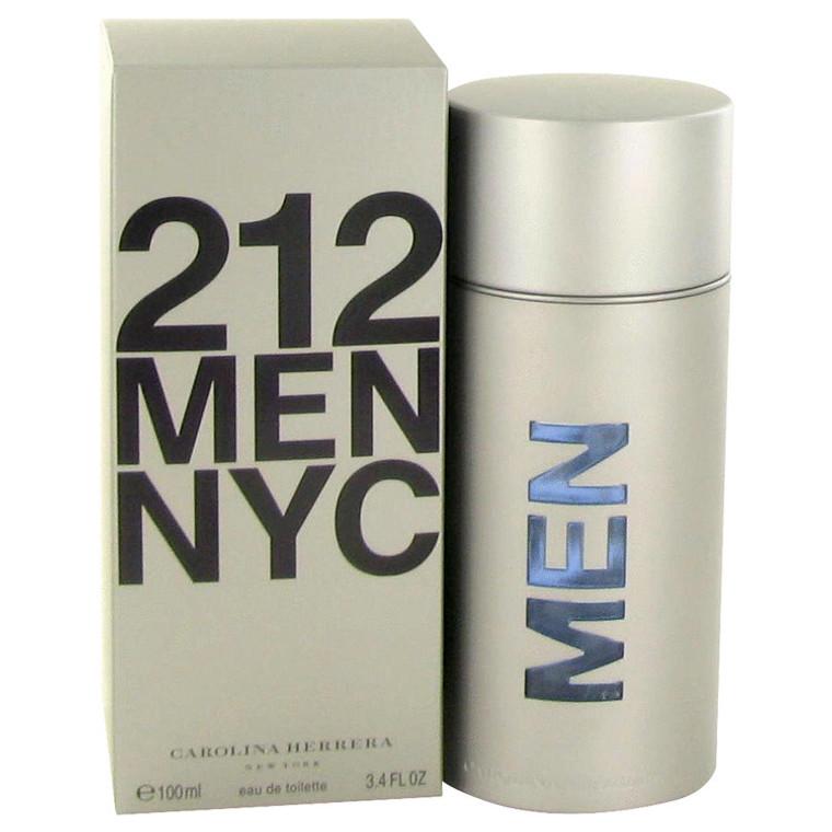 212 By Carolina Herrera 3.4 oz Eau De Toilette Spray (New Packaging) for Men