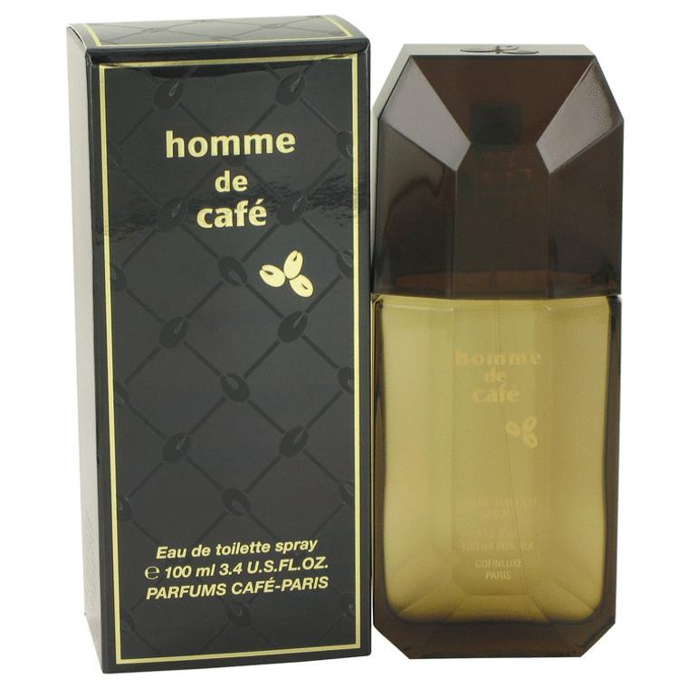 Cafe By Cofinluxe 3.4 oz Eau De Toilette Spray for Men