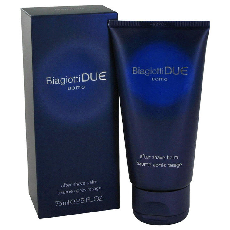 Due By Laura Biagiotti 2.5 oz After Shave Balm for Men