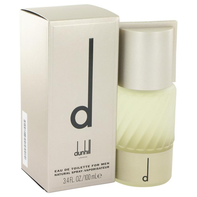 D By Alfred Dunhill 3.4 oz Eau De Toilette Spray for Men