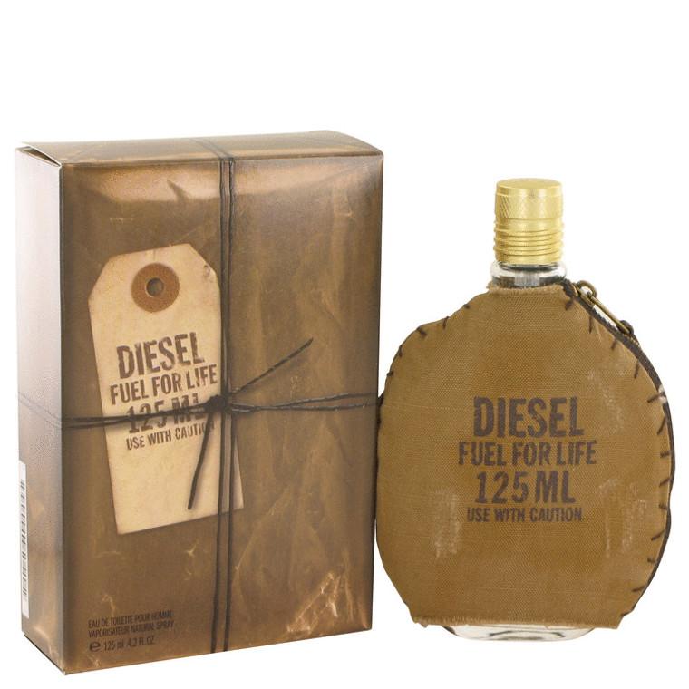 Fuel For Life By Diesel 4.2 oz Eau De Toilette Spray for Men