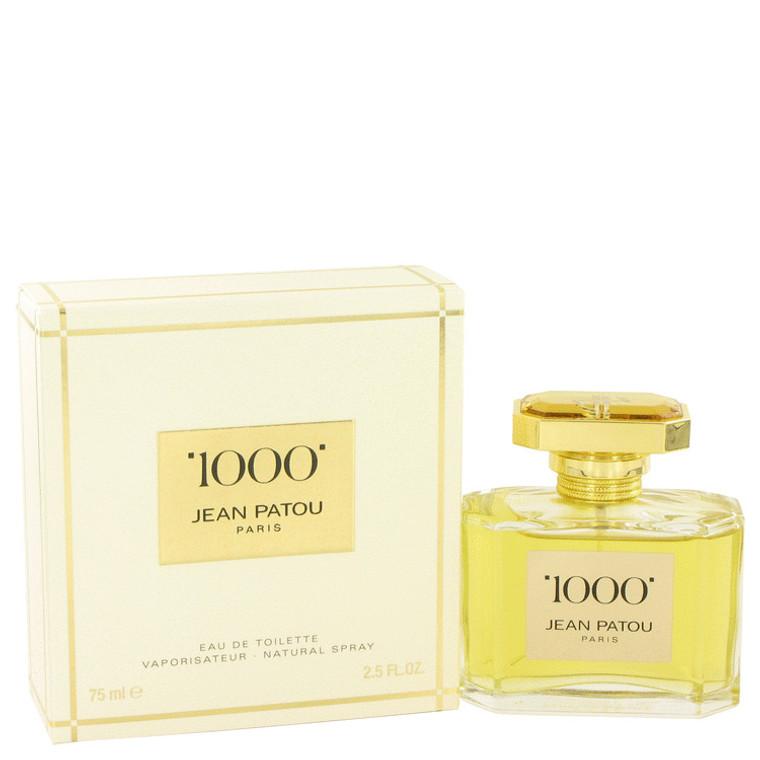 1000 By Jean Patou 2.5 oz Eau De Toilette Spray for Women