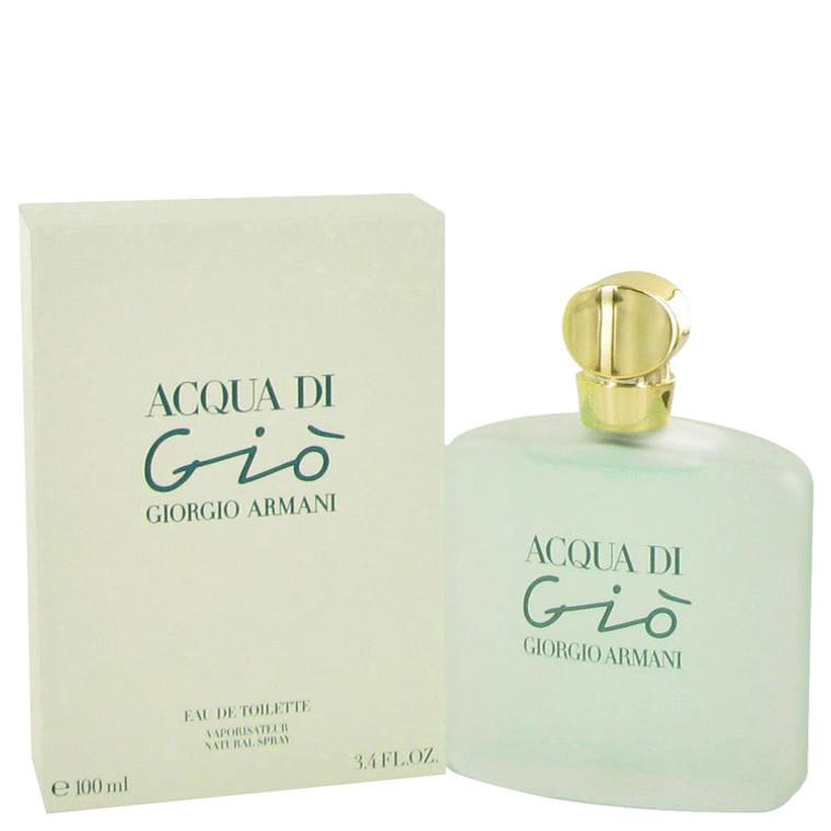 Acqua Di Gio By Giorgio Armani 3.3 oz Eau De Toilette Spray for Women
