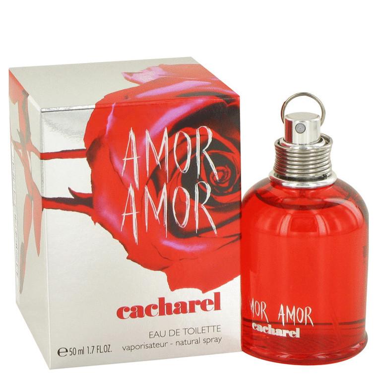 Amor Amor By Cacharel 1.7 oz Eau De Toilette Spray for Women