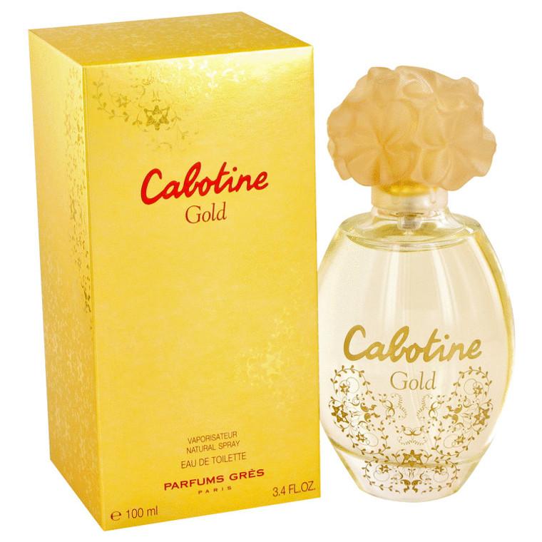 Cabotine Gold By Parfums Gres 3.4 oz Eau De Toilette Spray for Women