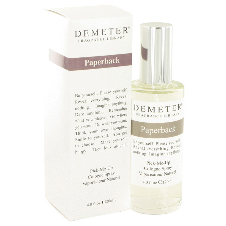 Paperback by Demeter 4 oz Cologne Spray for Women