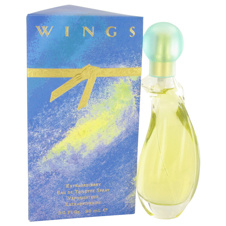 Wings By Giorgio Beverly Hills 3 oz Eau De Toilette Spray for Women