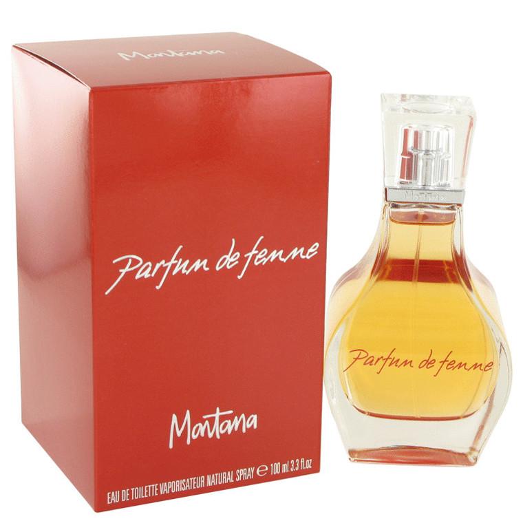 Parfum De Femme By Montana 3.3 oz Eau De Toilette Spray for Women