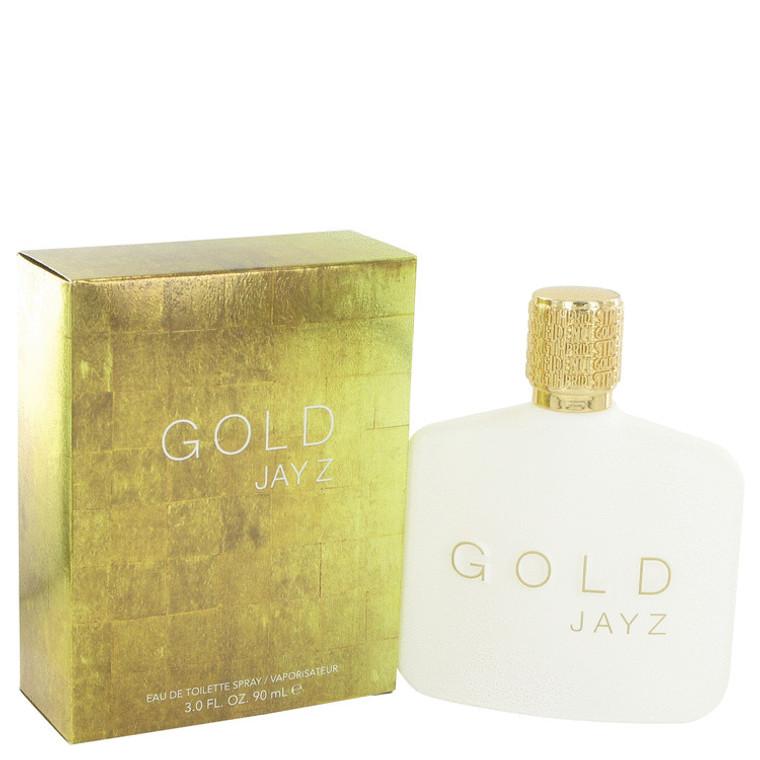Gold Jay Z By Jay Z 3 oz Eau De Toilette Spray for Men