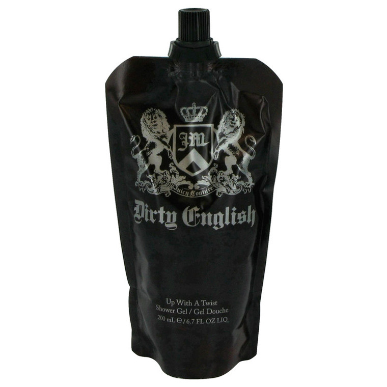 Dirty English By Juicy Couture 6.7 oz Shower Gel for Men