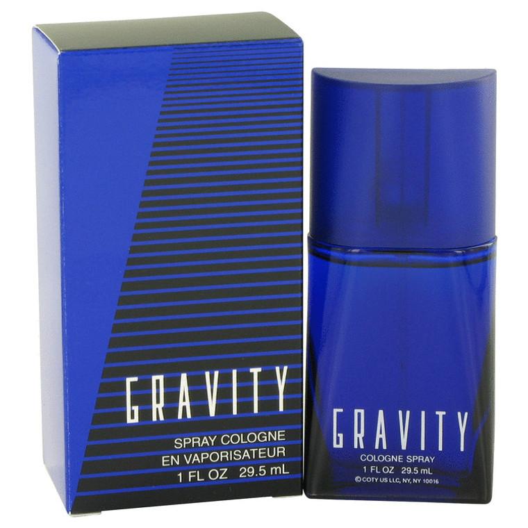 Gravity By Coty 1 oz Cologne Spray for Men