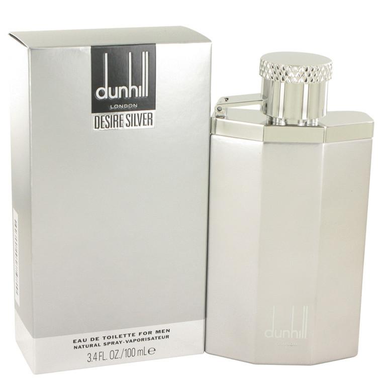 Desire Silver London By Dunhill 3.4 oz Eau De Toilette Spray for Men