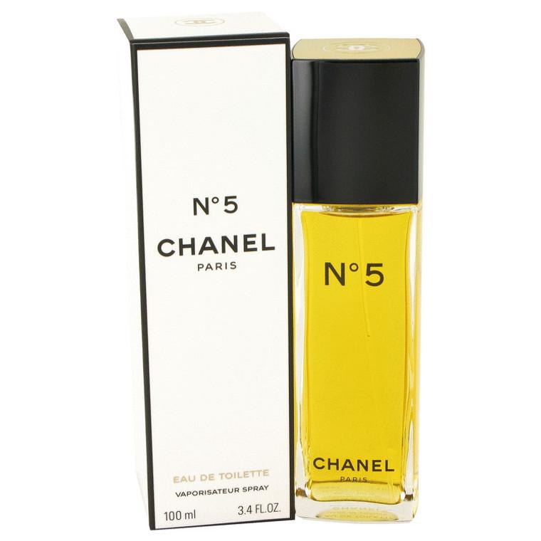 Chanel No. 5 By Chanel 3.4 oz Eau De Toilette Spray for Women