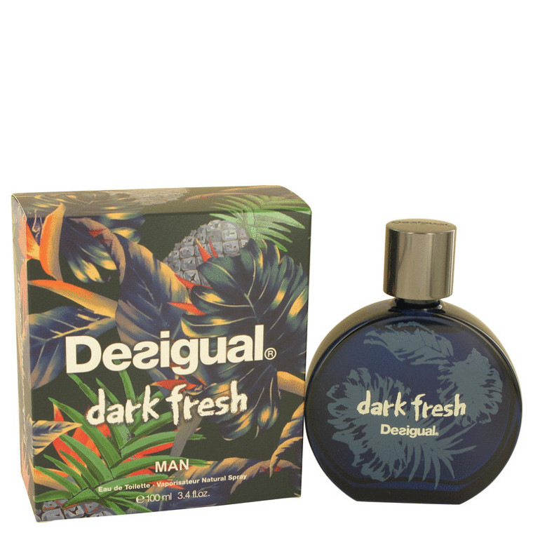 Dark Fresh By Desigual 3.4 oz Eau De Toilette Spray for Men