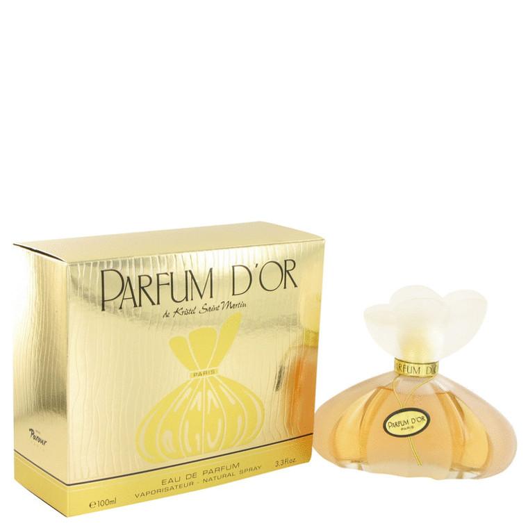 Parfum D'Or By Kristel Saint Martin 3.4 oz Eau De Parfum Spray for Women