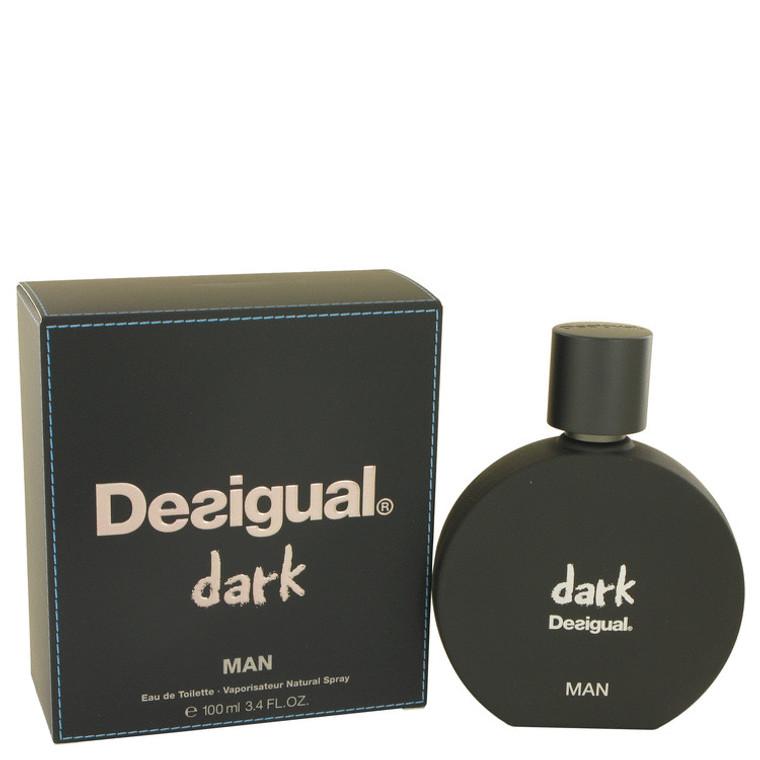 Dark By Desigual 3.4 oz Eau De Toilette Spray for Men