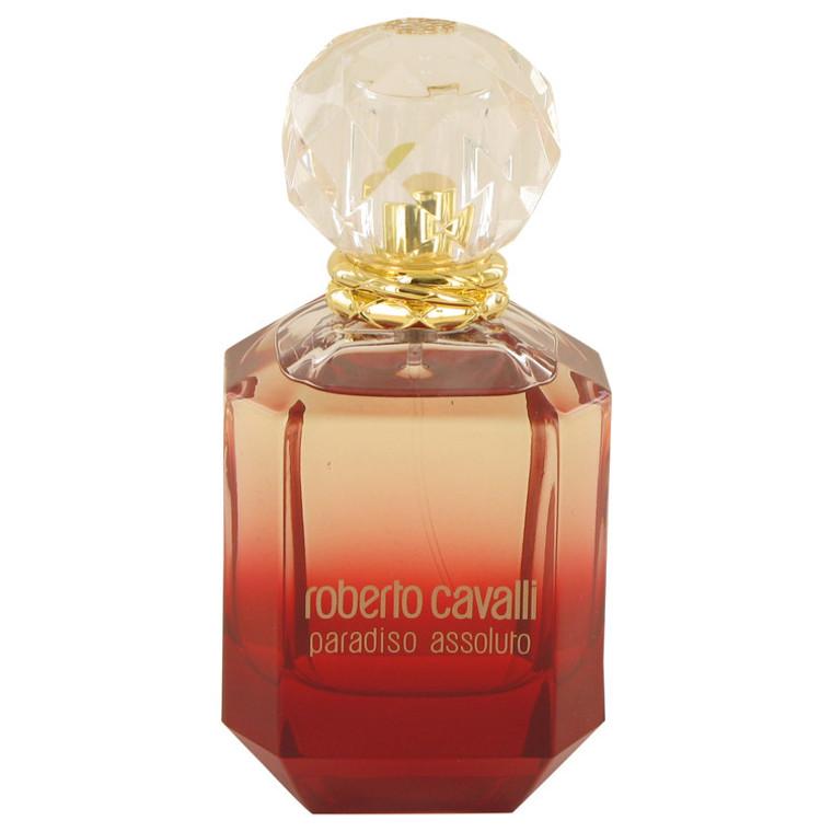 Paradiso Assoluto By Roberto Cavalli 2.5 oz Eau De Parfum Spray Tester for Women