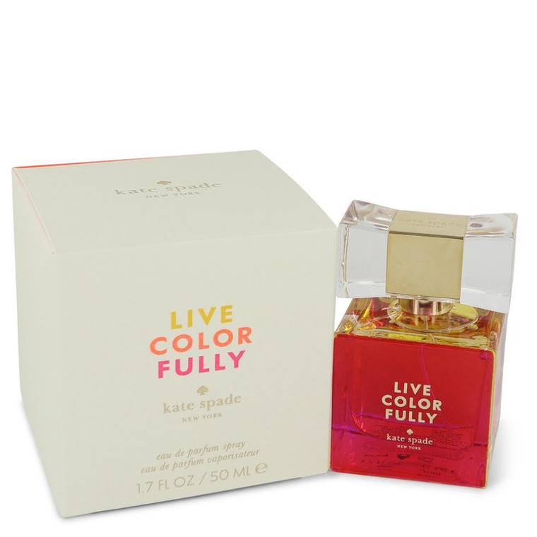 Live Colorfully by Kate Spade 1.7 oz Eau De Parfum Spray for Women