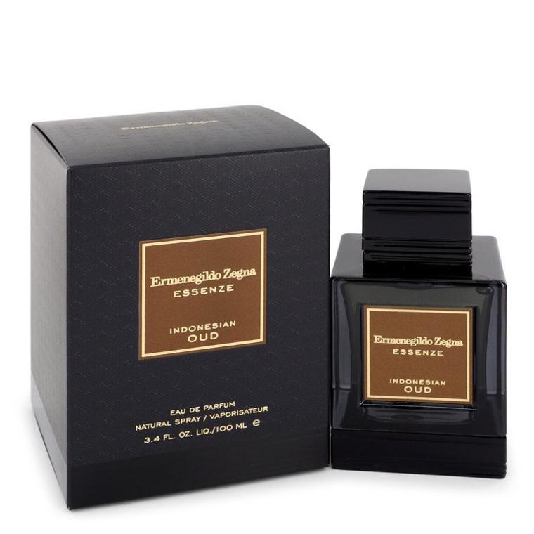 Indonesian Oud by Ermenegildo Zegna 3.4 oz Eau De Parfum Spray for Men