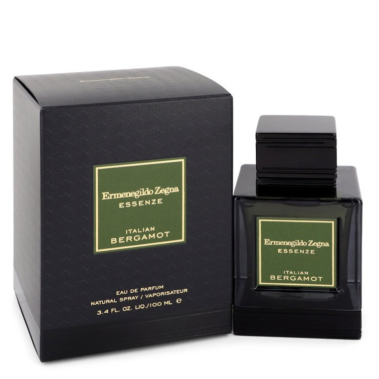Italian Bergamot by Ermenegildo Zegna 3.4 oz Eau De Parfum Spray for Men