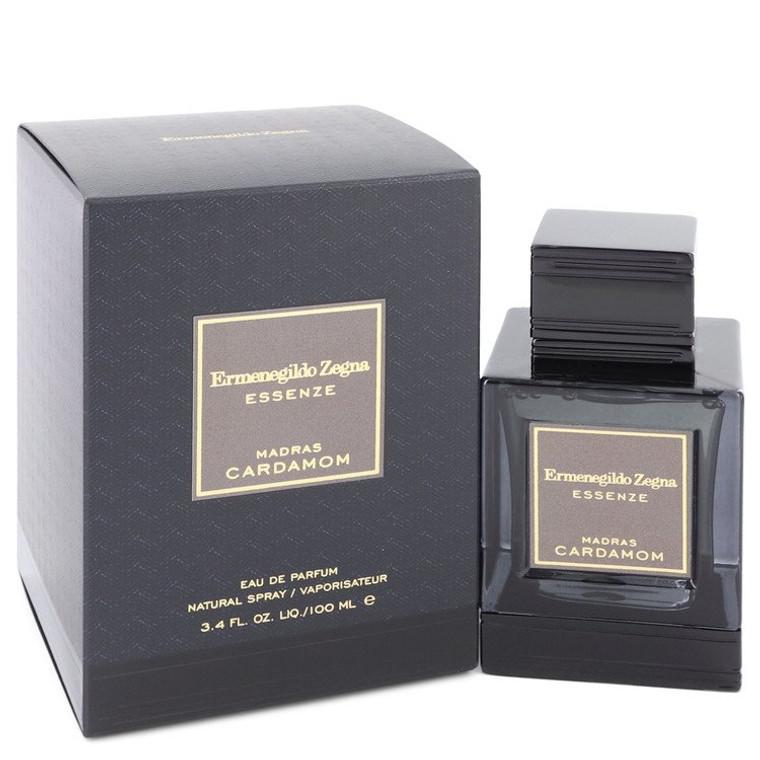 Madras Cardamom by Ermenegildo Zegna 3.4 oz Eau De Parfum Spray for Men