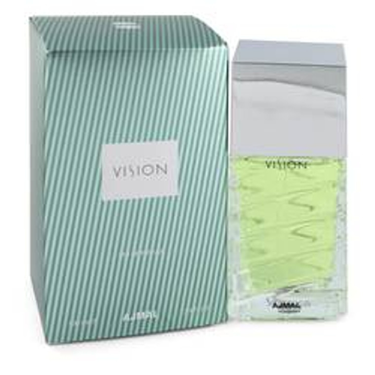 Vision Perfume By Ajmal Eau De Parfum Spray by Ajmal 3.4 oz Eau De Parfum Spray for Women