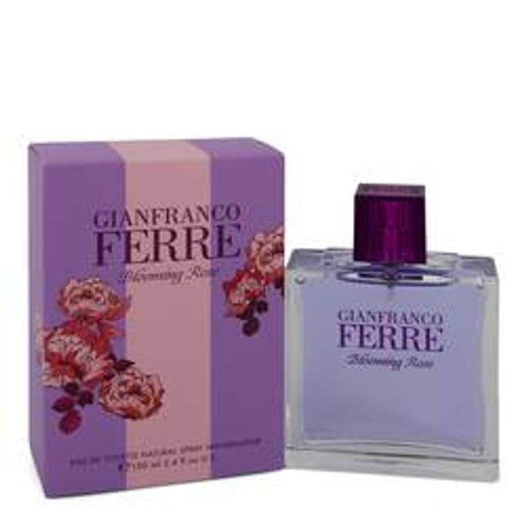 Blooming Rose by Gianfranco Ferre 3.4 oz Eau De Toilette Spray for Women