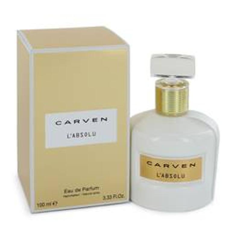 Carven L'absolu by Carven 3.3 oz Eau De Parfum Spray for Women