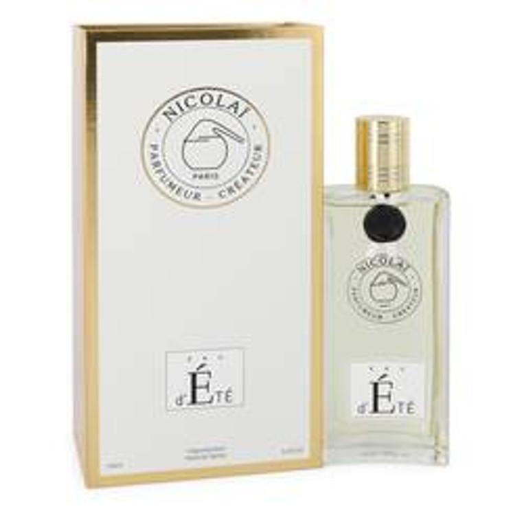 Eau D'ete by Nicolai 3.4 oz Eau De Parfum Spray for Women