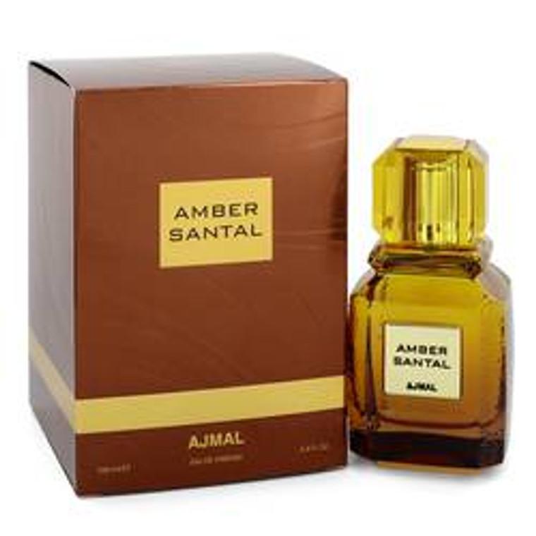 Amber Santal by Ajmal 3.4 oz Eau De Parfum Spray for Women