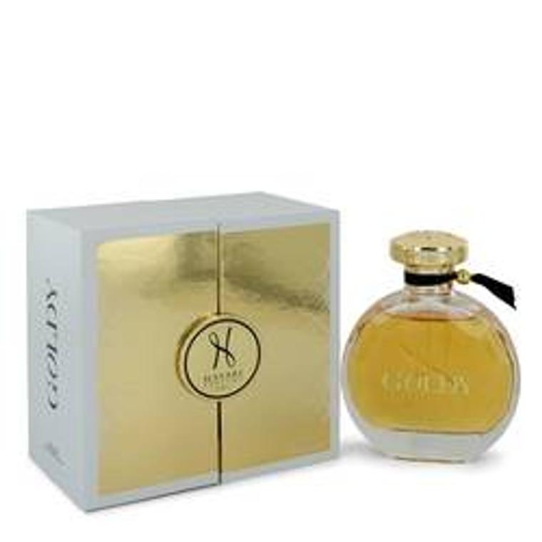 Goldy by Hayari 3.4 oz Eau De Parfum Spray for Women