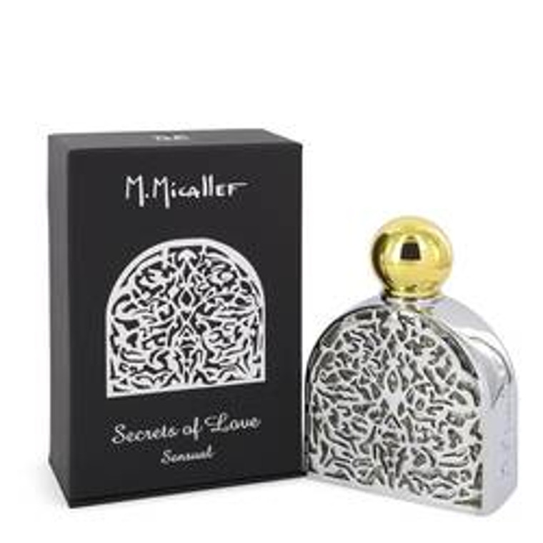 Secrets Of Love Sensual by M. Micallef 2.5 oz Eau De Parfum Spray for Women