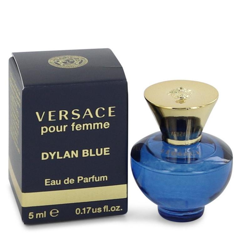 Pour Femme Dylan Blue by Versace 0.17 oz Mini EDP for Women