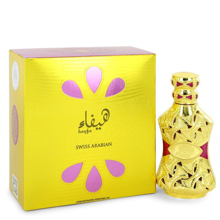 Hayfa by Swiss Arabian 0.5 oz Concentrated Perfume Oil for Women