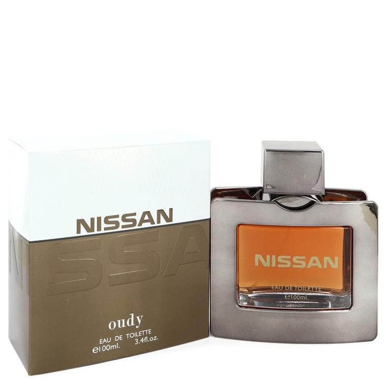 Nissan Oudy by Nissan 3.4 oz Eau De Toilette Spray for Men