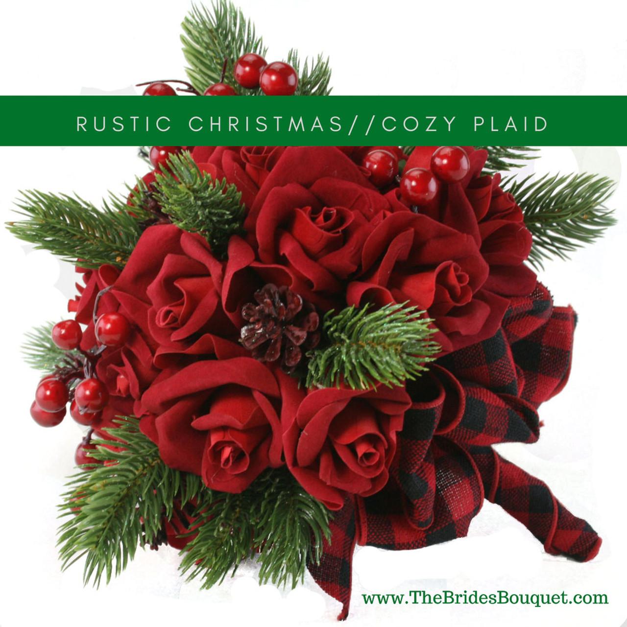 Christmas Flower Arrangements Artificial.Christmas Red Velvet Rose Bouquet Wedding Silk Wedding Flowers Cheap Bridal Bouquets Bridesmaid Bouquets Artificial Wedding Bouquets Buffalo