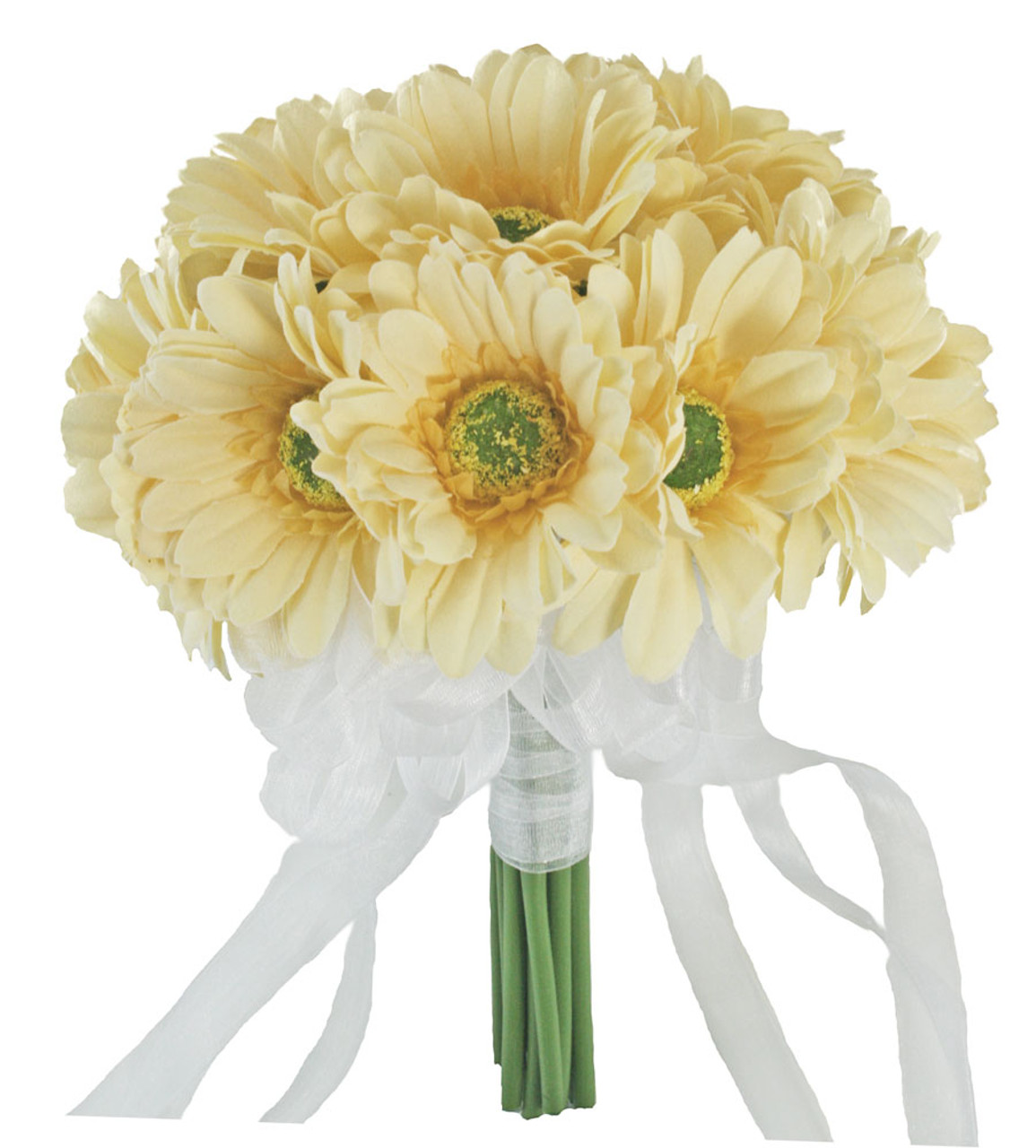 Yellow Wedding Flowers Ideas: Yellow Daisy Bridal Bouquet